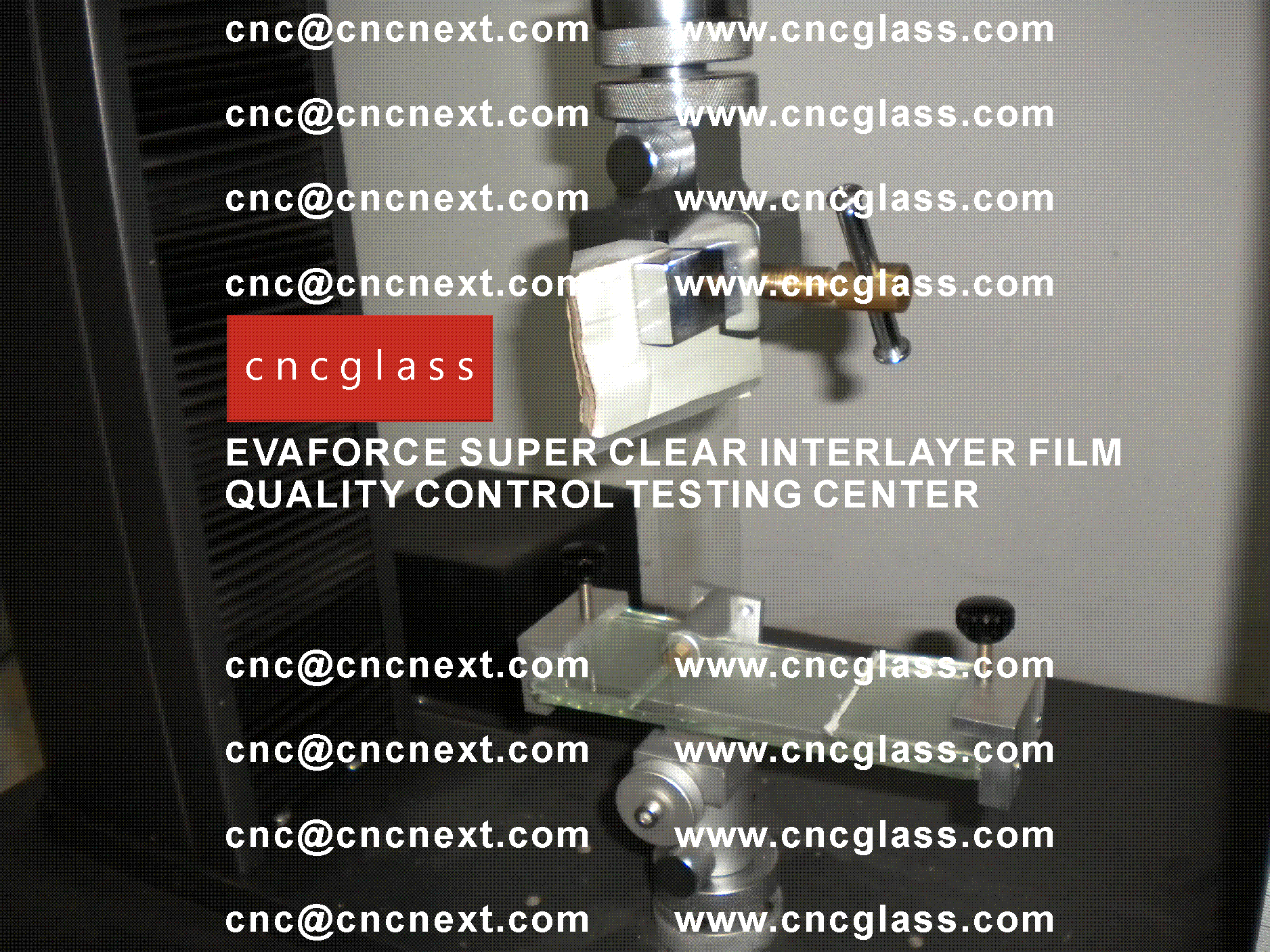 001 Quality Control of EVAFORCE SUPER CLEAR INTERLAYER FILM
