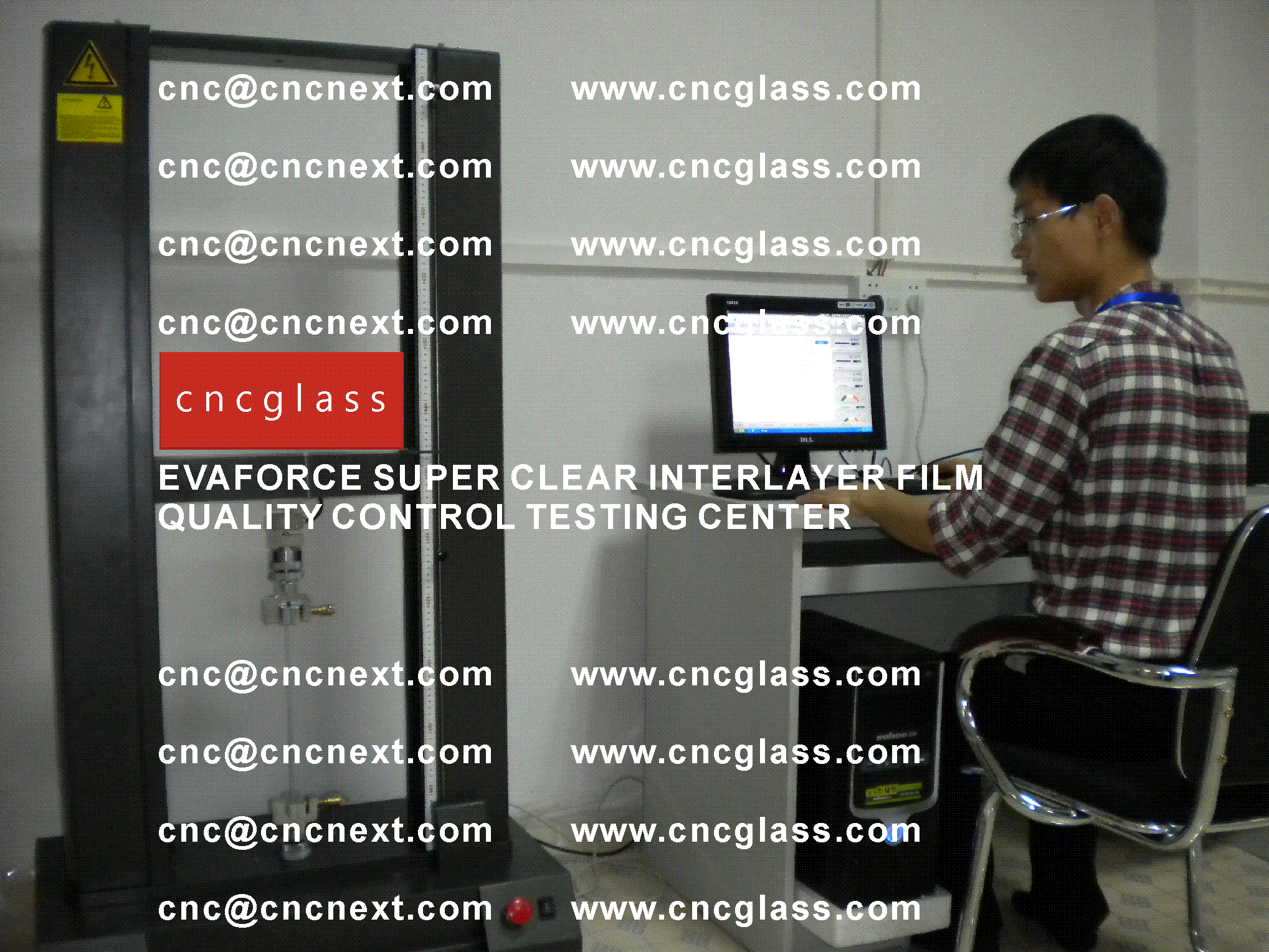 002 Quality Control of EVAFORCE SUPER CLEAR INTERLAYER FILM