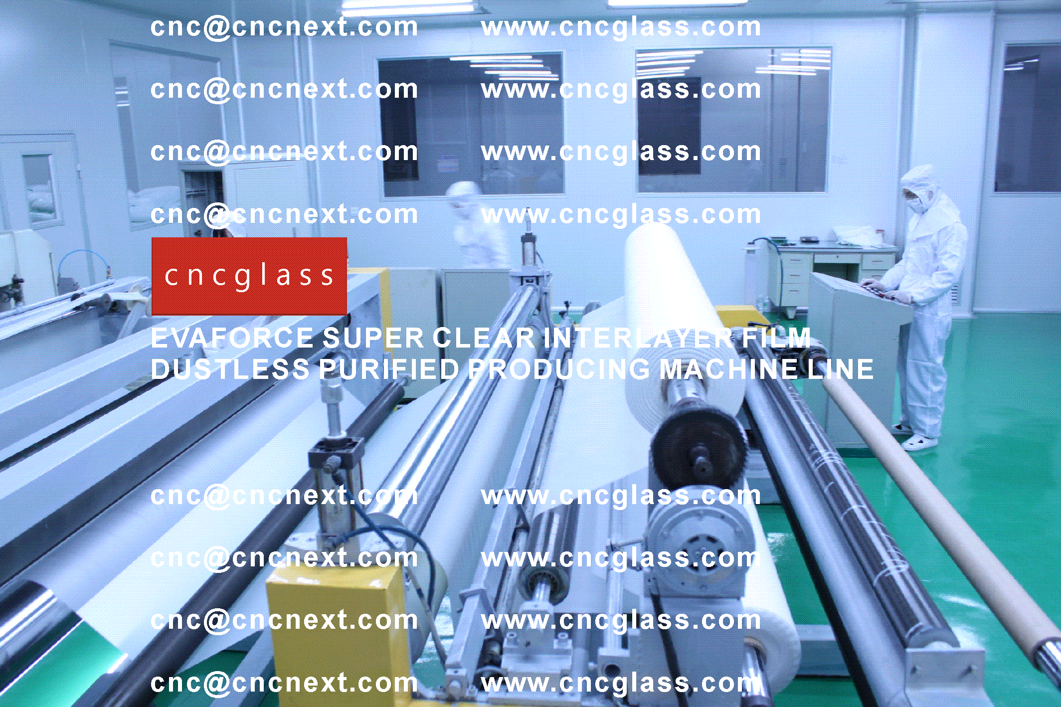 003 EVAFORCE SUPER CLEAR INTERLAYER FILM PRODUCING MACHINE LINE