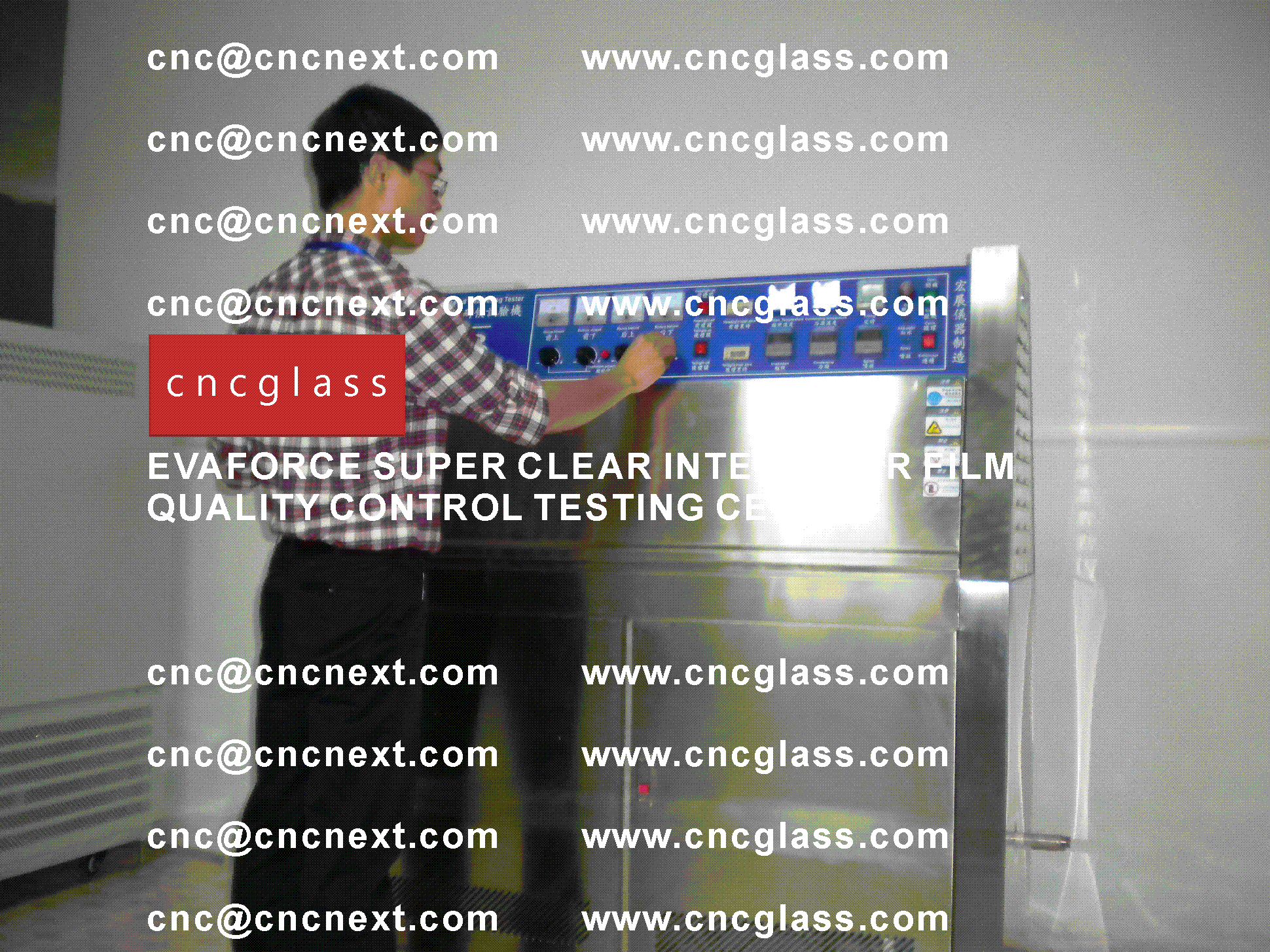 004 Quality Control of EVAFORCE SUPER CLEAR INTERLAYER FILM