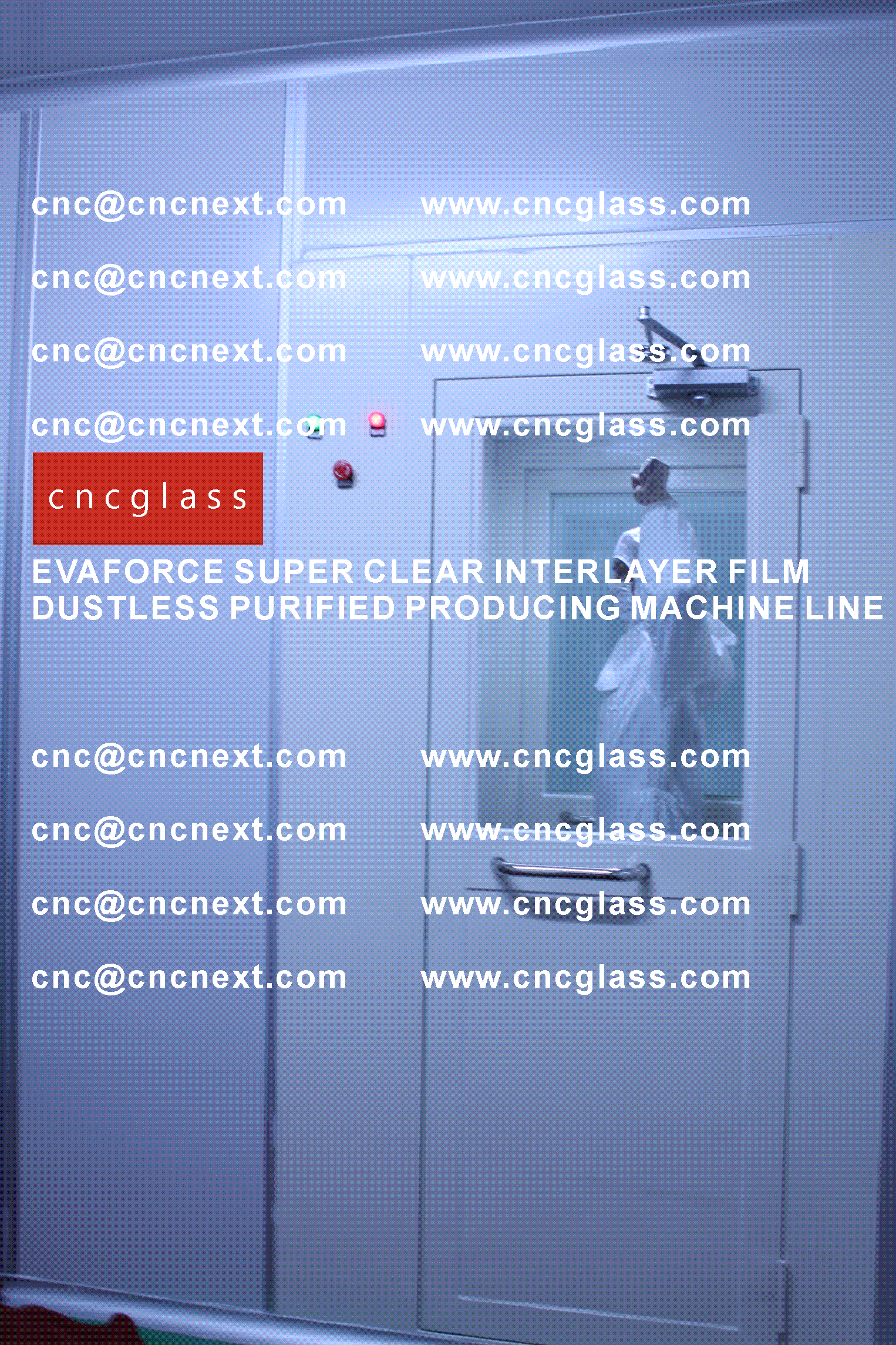 005 EVAFORCE SUPER CLEAR INTERLAYER FILM PRODUCING MACHINE LINE