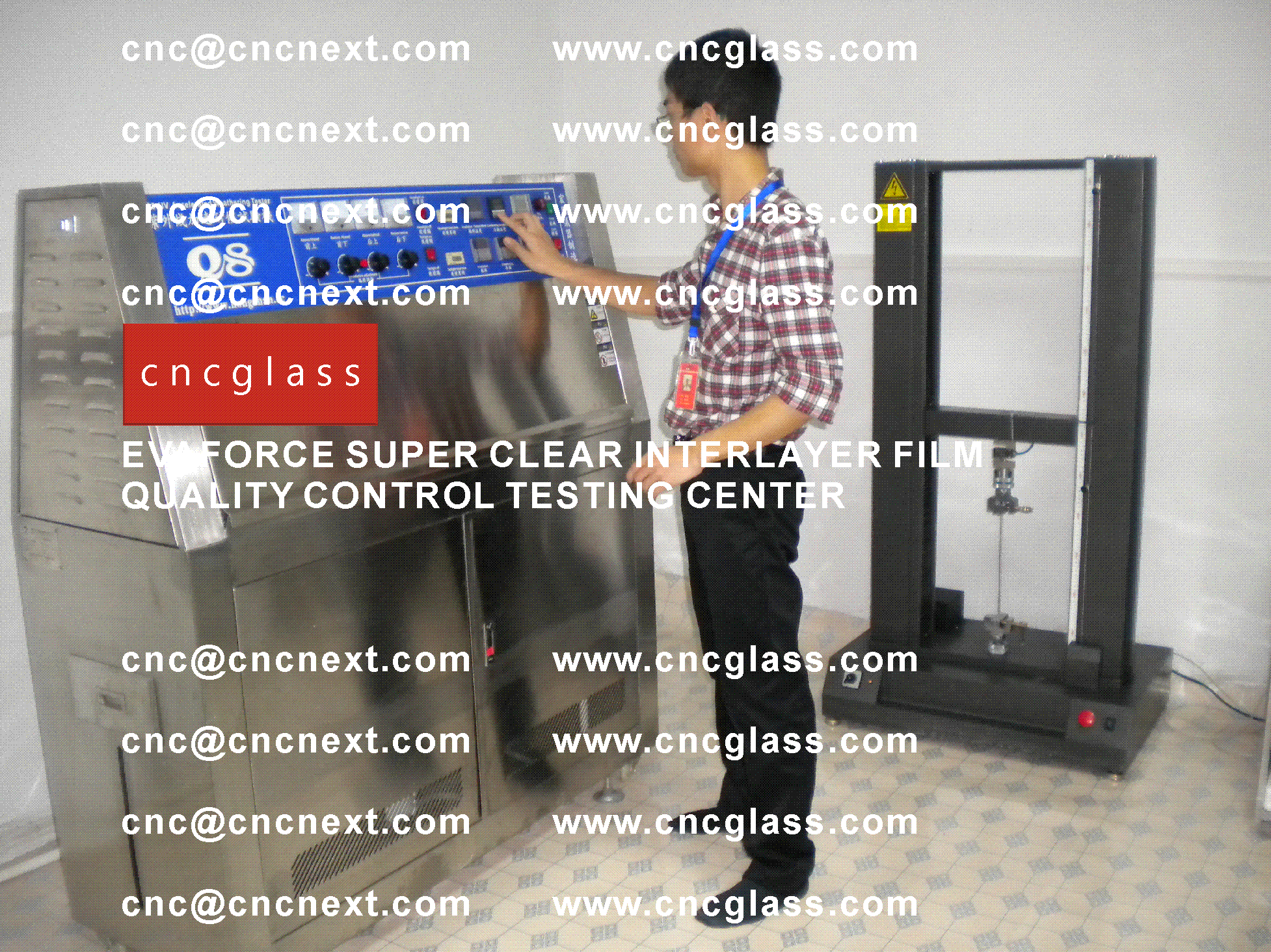 005 Quality Control of EVAFORCE SUPER CLEAR INTERLAYER FILM