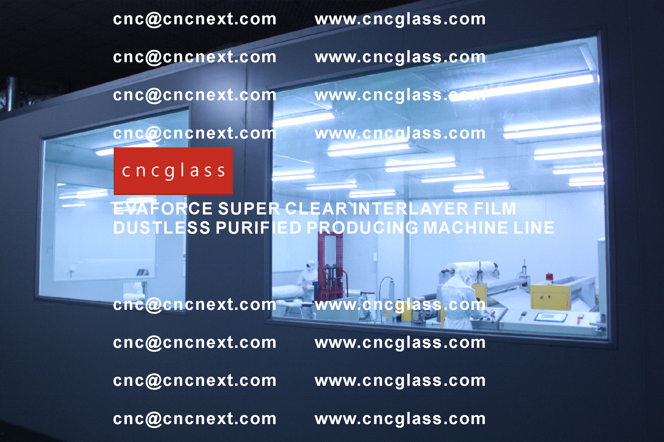 006 EVAFORCE SUPER CLEAR INTERLAYER FILM PRODUCING MACHINE LINE