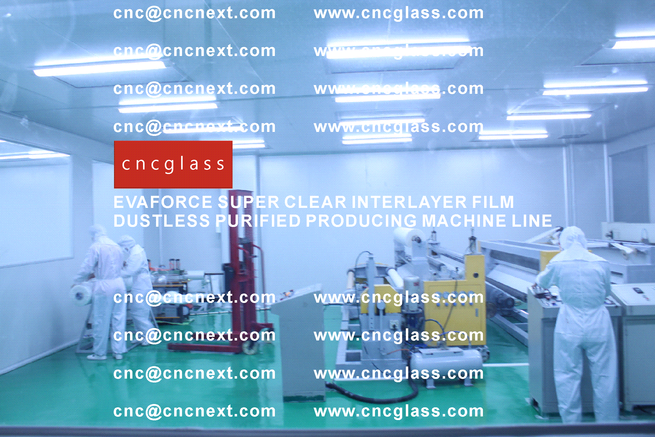 007 EVAFORCE SUPER CLEAR INTERLAYER FILM PRODUCING MACHINE LINE