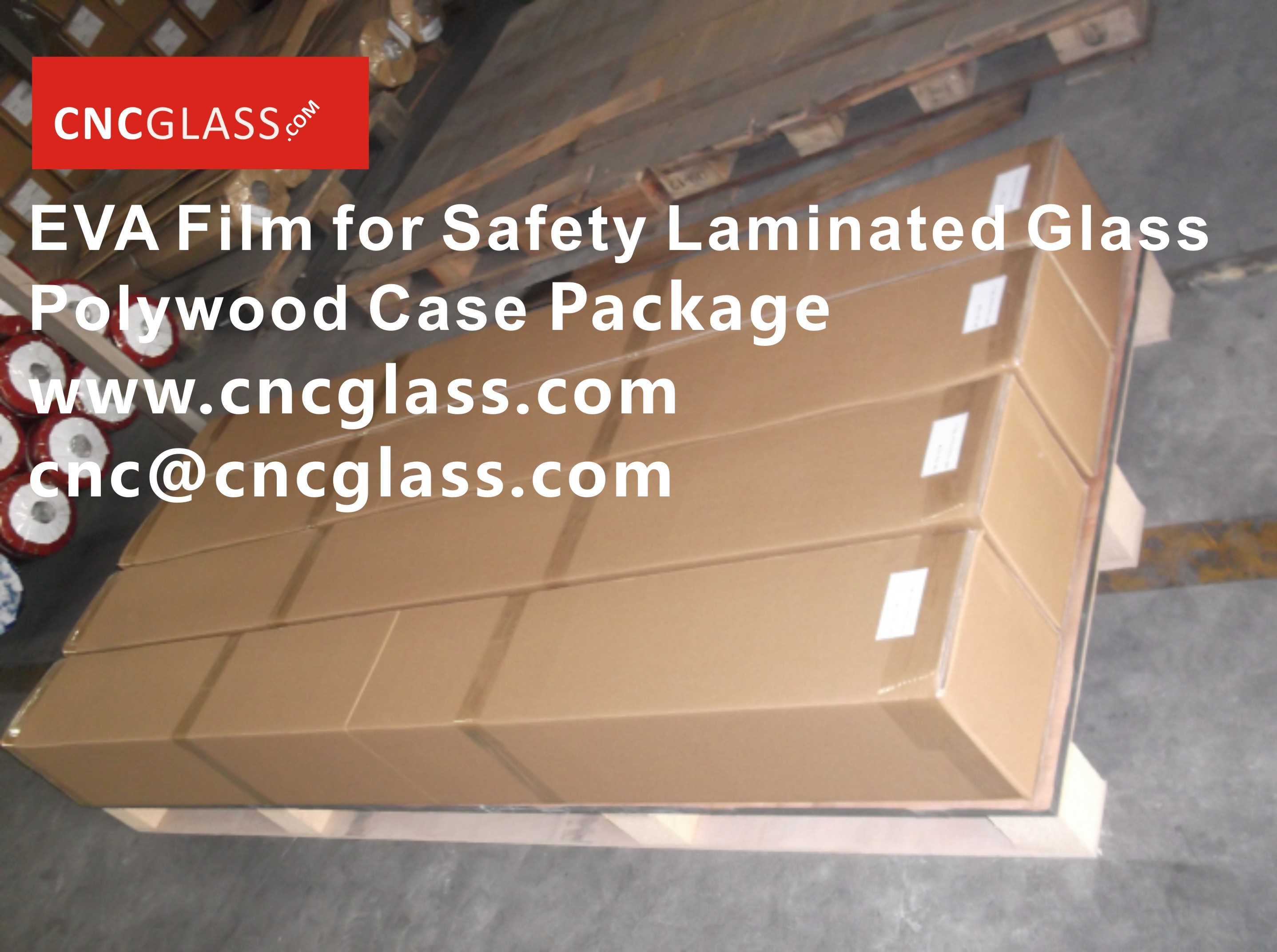 091603EVA Film for Safety Glass Package