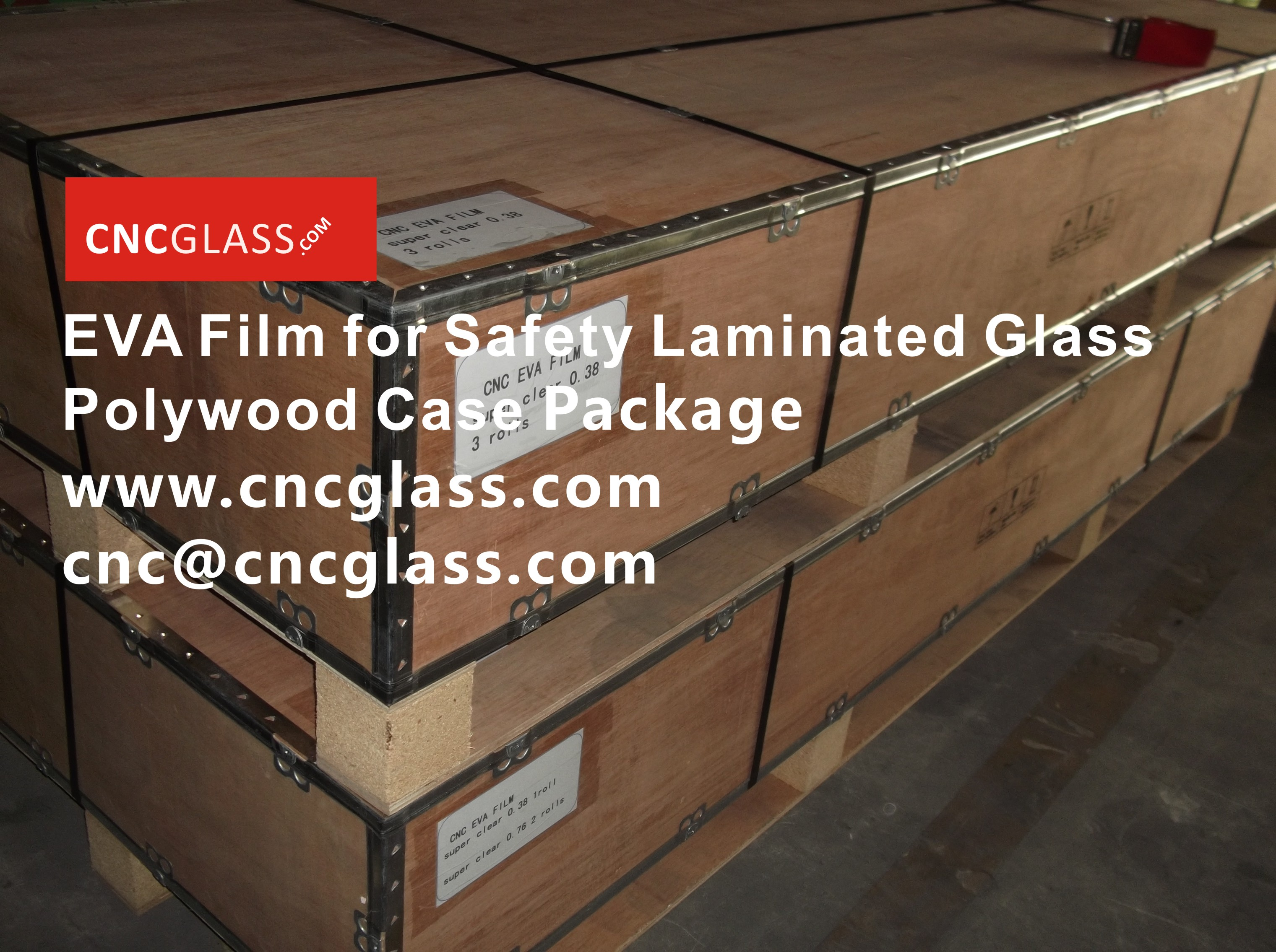 091606EVA Film for Safety Glass Package