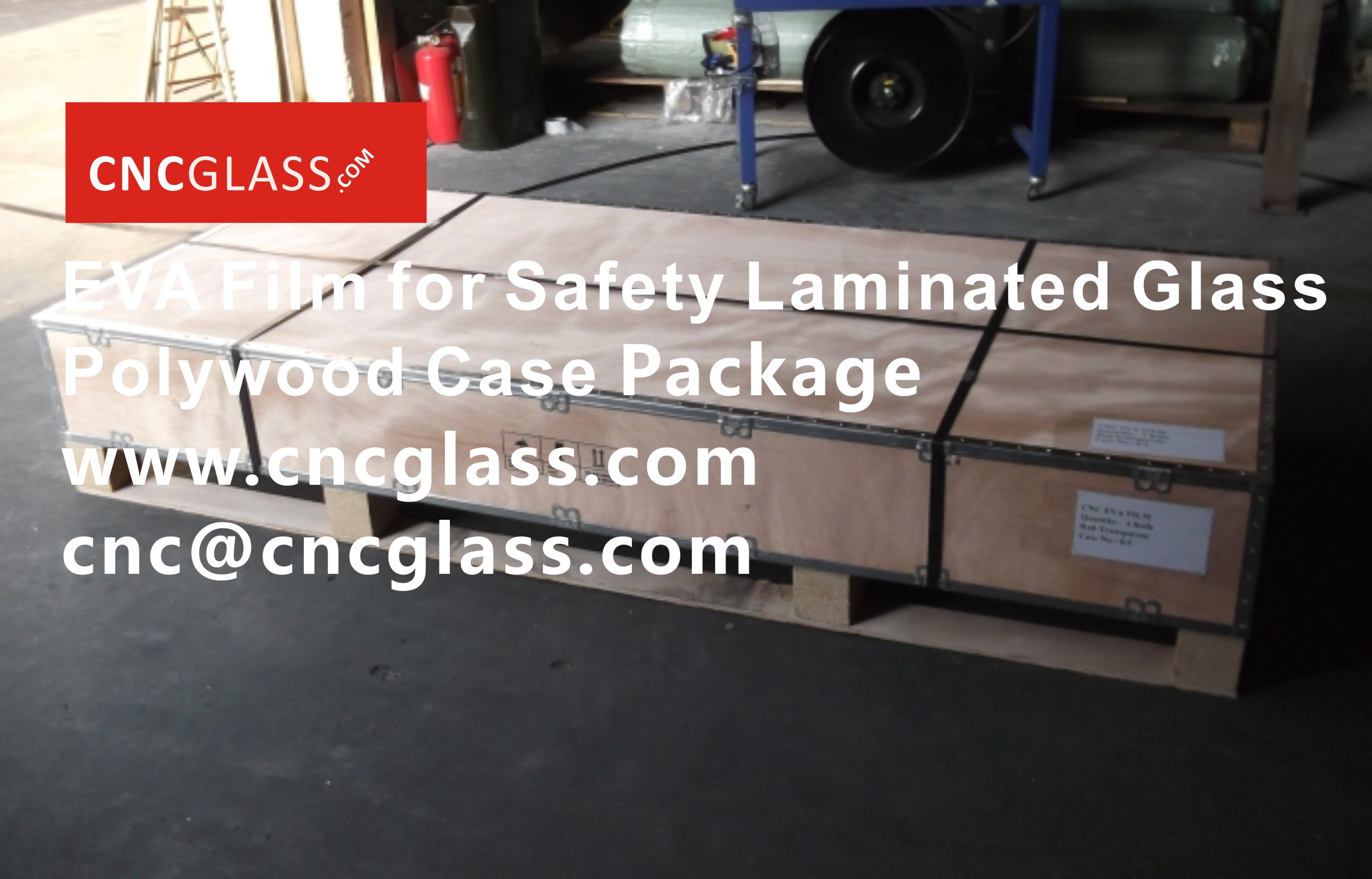 09168EVA Film for Safety Glass Package