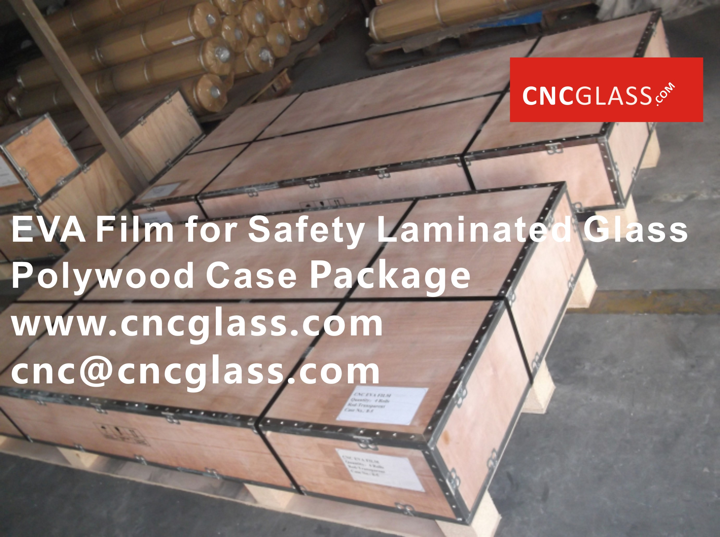 0916EVA Film for Safety Glass Package
