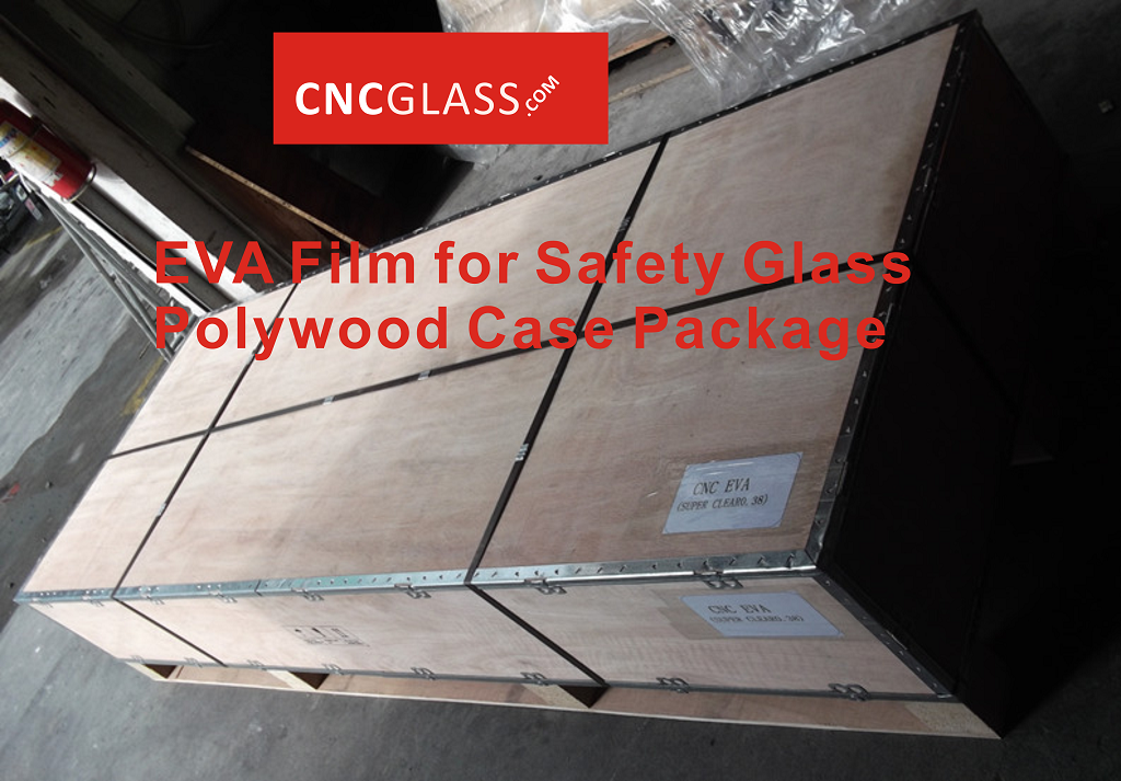 EVA Film for Safety Glass Polywood Case Package