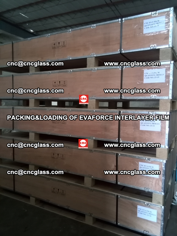 PACKING&LOADING OF EVAFORCE INTERLAYER FILM for safety laminated glass (17)