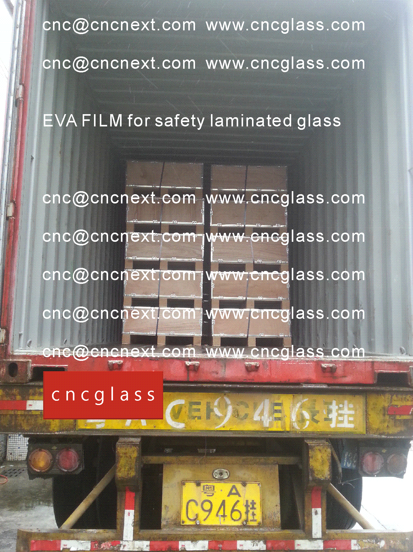 01 EVALAM INATING FILM LOADING CONTAINER (SAFETY LAMINATED GLASS)