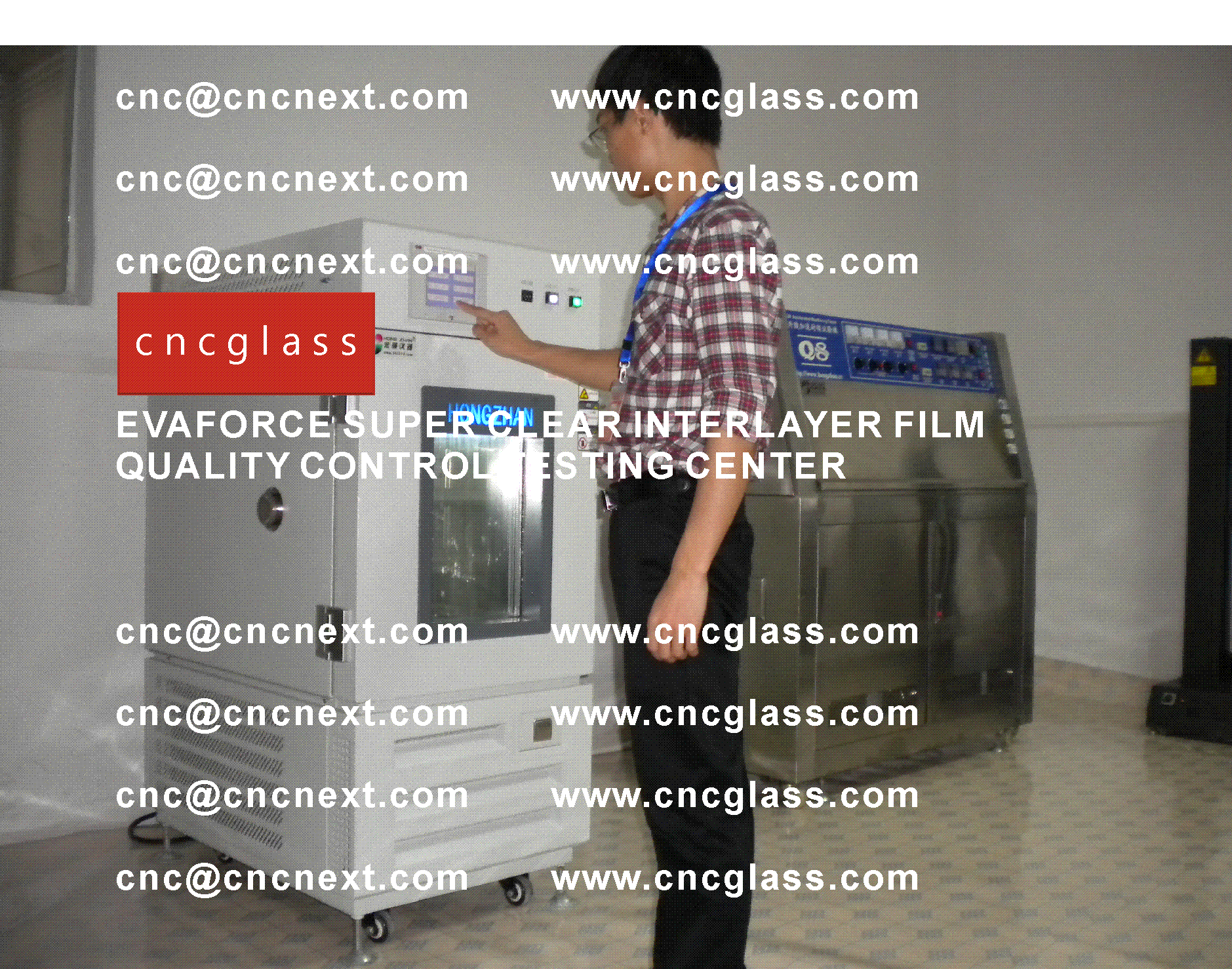 003 Quality Control of EVAFORCE SUPER CLEAR INTERLAYER FILM