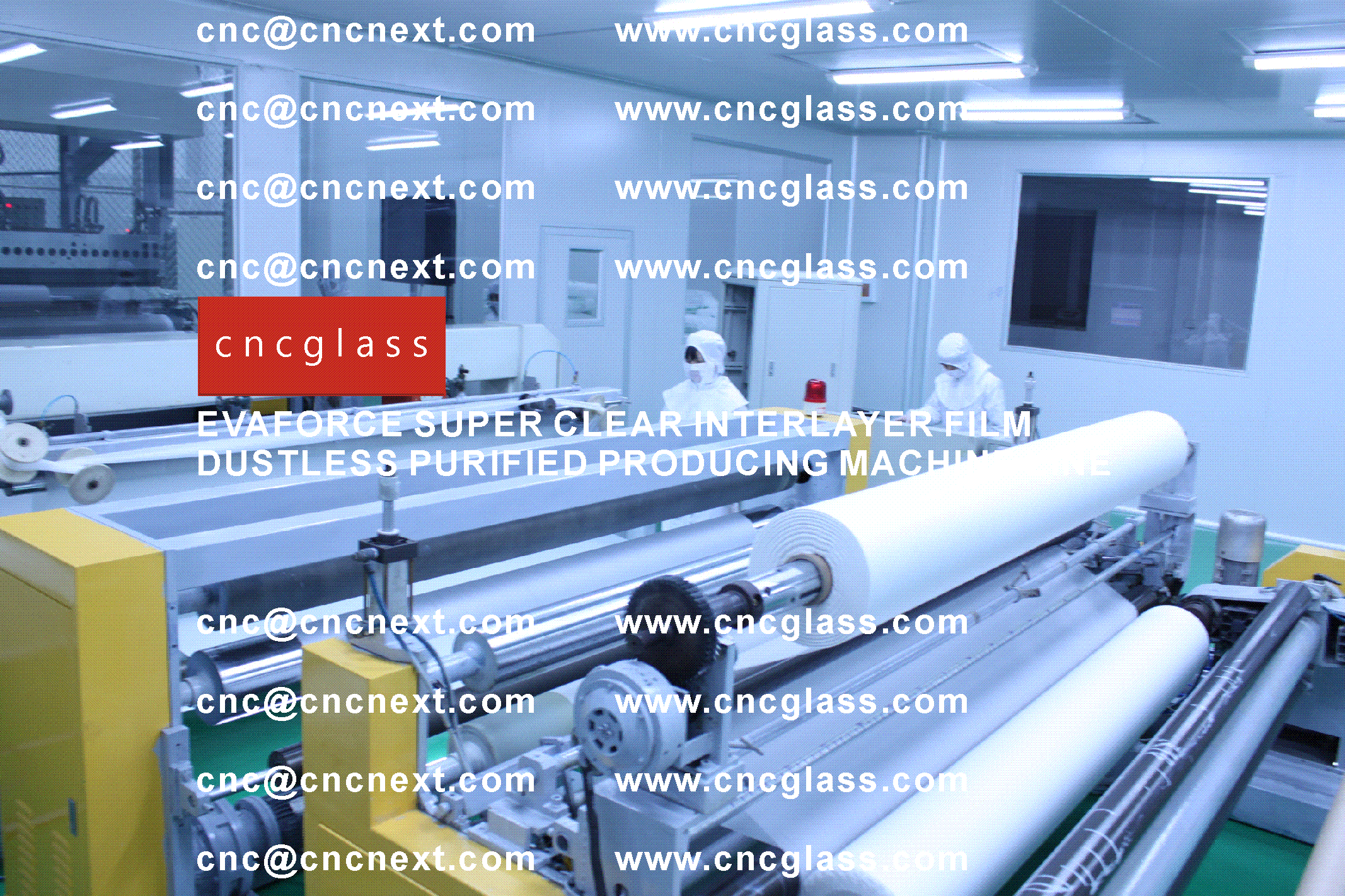 004 EVAFORCE SUPER CLEAR INTERLAYER FILM PRODUCING MACHINE LINE