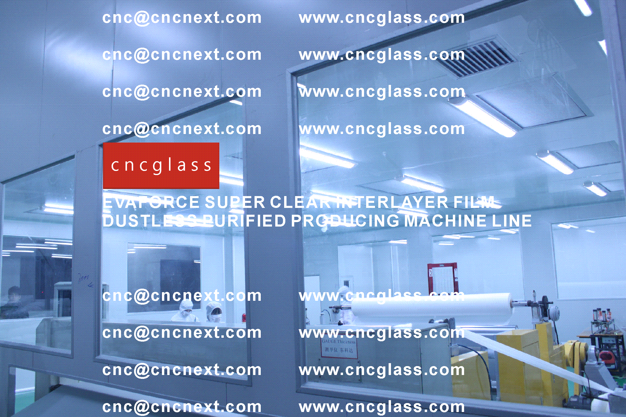 011 EVAFORCE SUPER CLEAR INTERLAYER FILM PRODUCING MACHINE LINE