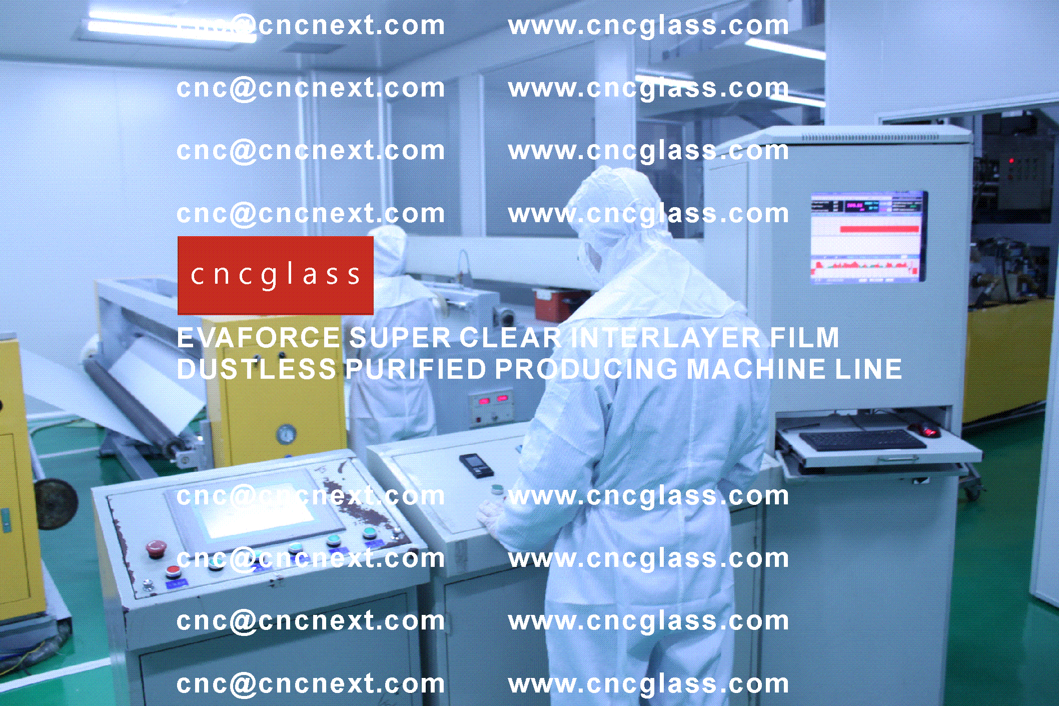 012 EVAFORCE SUPER CLEAR INTERLAYER FILM PRODUCING MACHINE LINE