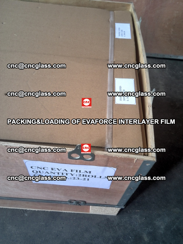 PACKING&LOADING OF EVAFORCE INTERLAYER FILM for safety laminated glass (5)