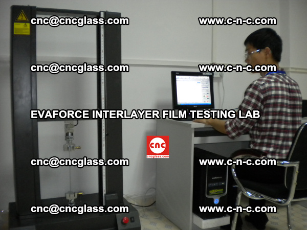 Quality Control of EVAFORCE SUPER CLEAR INTERLAYER FILM (2)