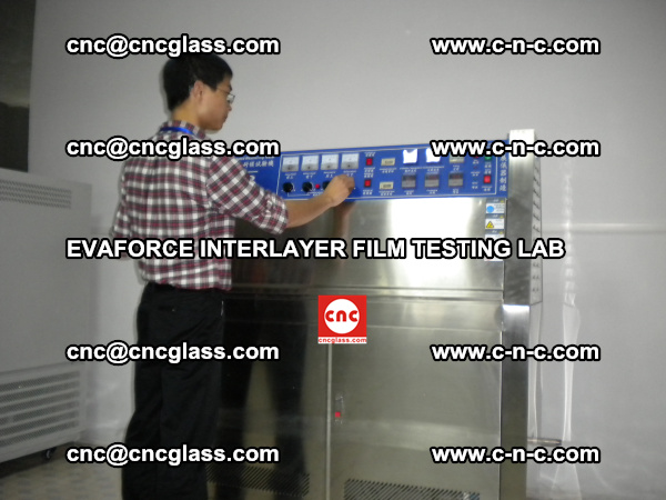 Quality Control of EVAFORCE SUPER CLEAR INTERLAYER FILM (4)