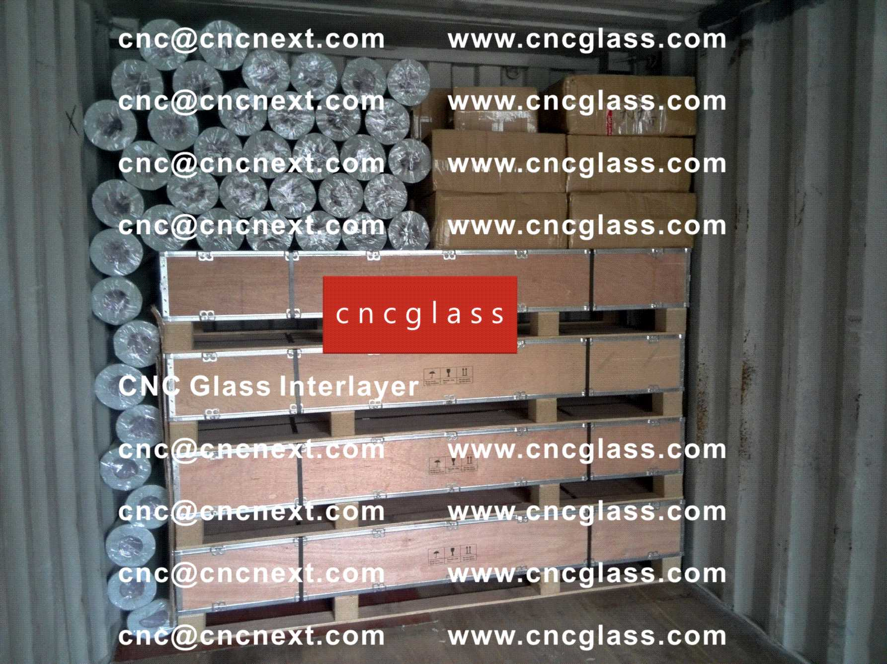 001 Safety Laminated Glass Interlayer EVA Film Loading Container