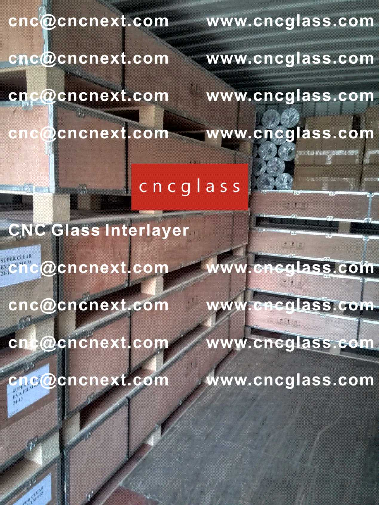 002 Safety Laminated Glass Interlayer EVA Film Loading Container