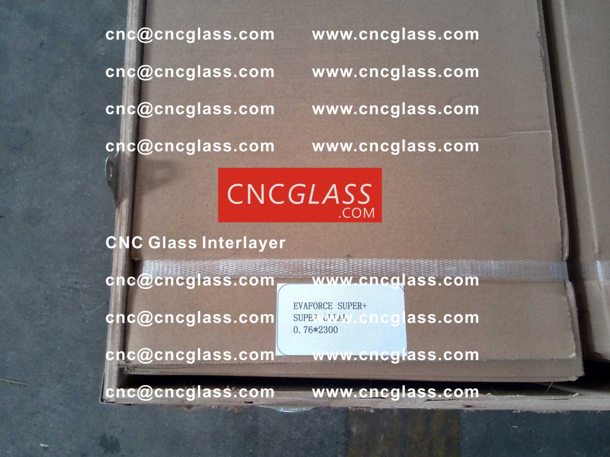 003 CNC Glass Interlayer EVA Film for Safety Laminated Glass