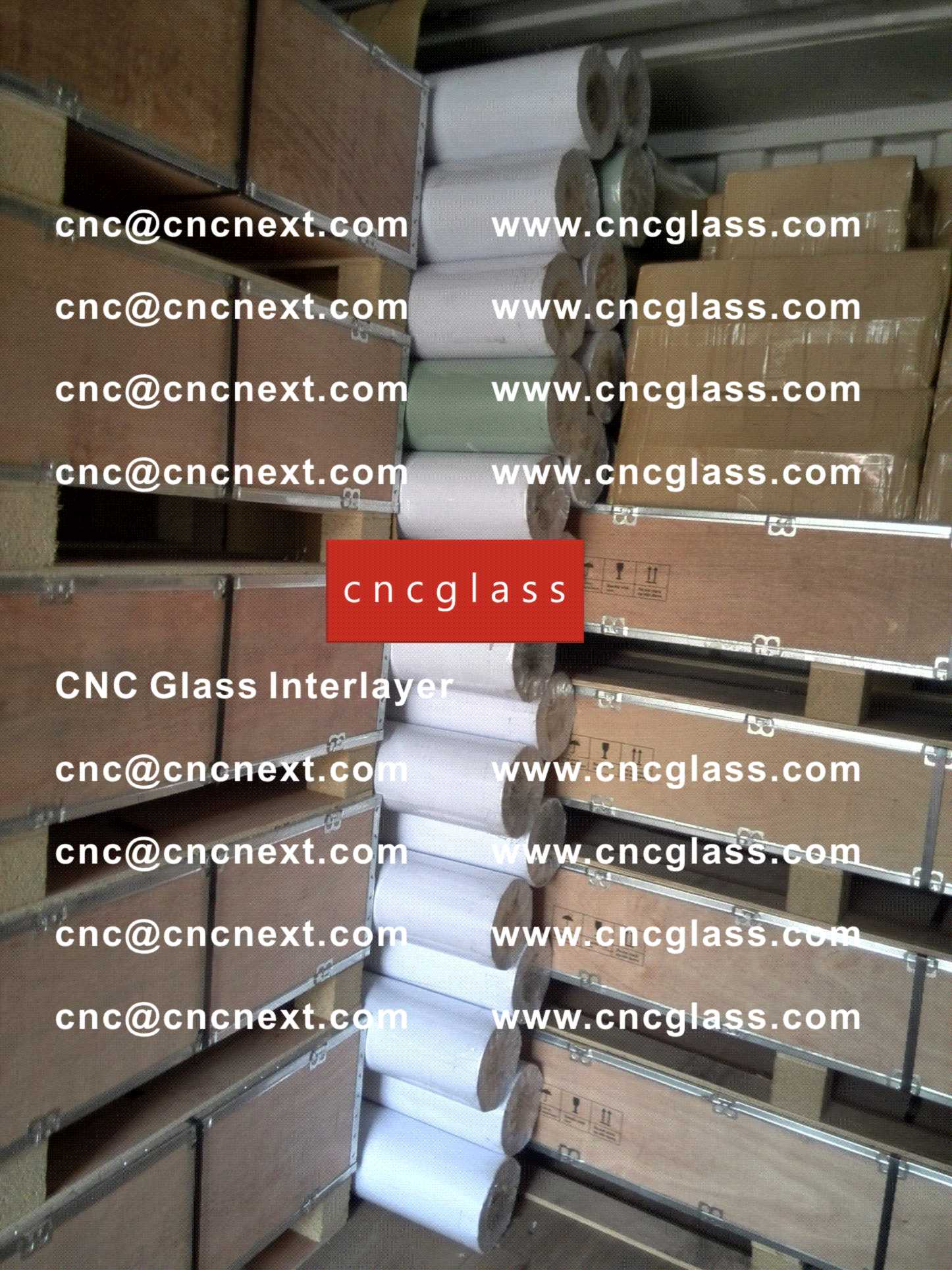 004 Safety Laminated Glass Interlayer EVA Film Loading Container