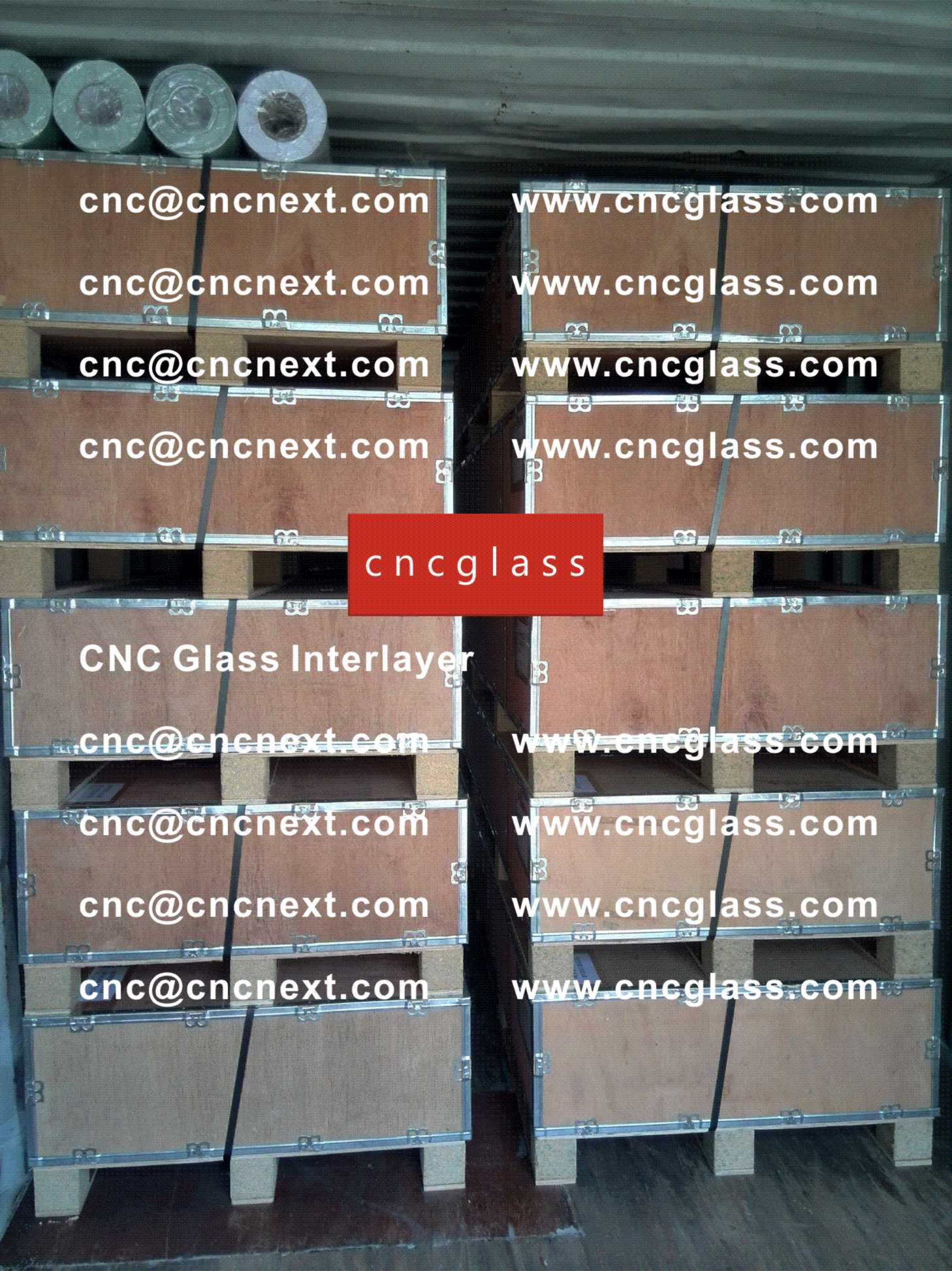 005 Safety Laminated Glass Interlayer EVA Film Loading Container