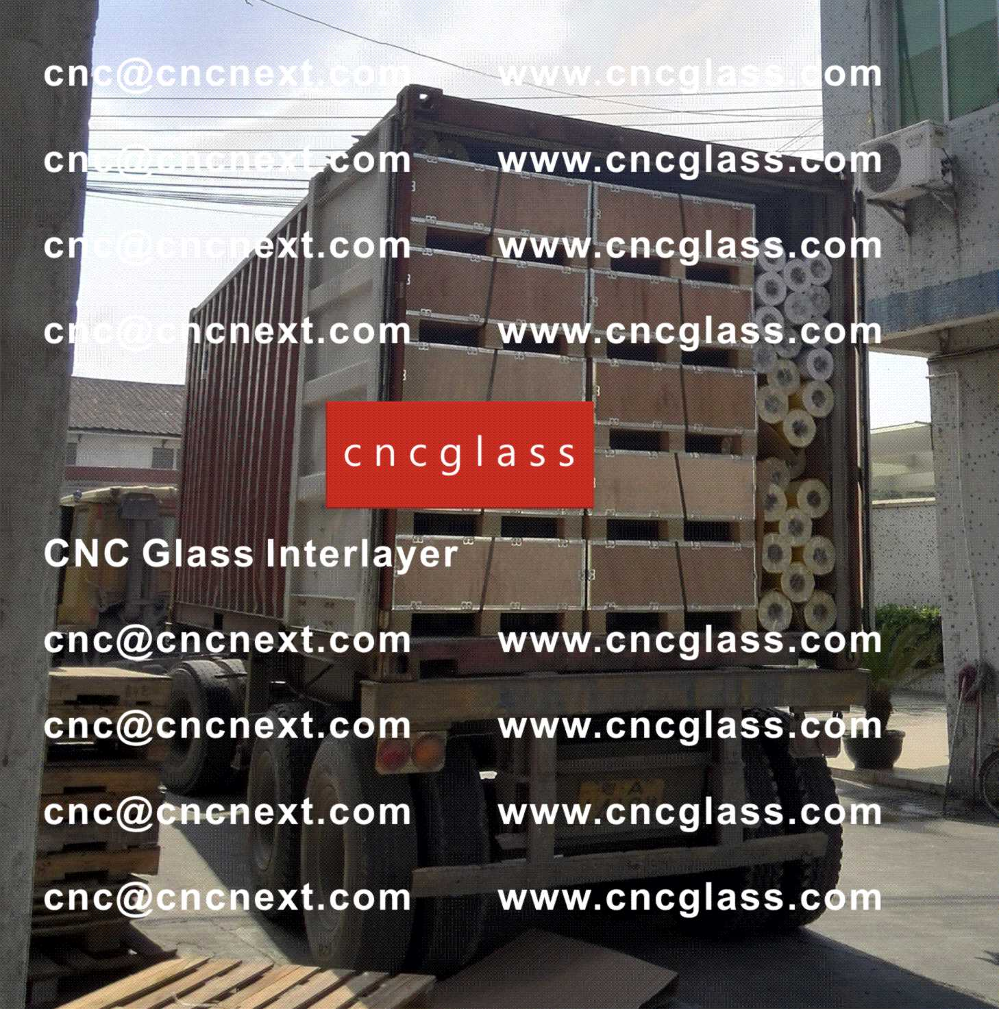 007 Safety Laminated Glass Interlayer EVA Film Loading Container