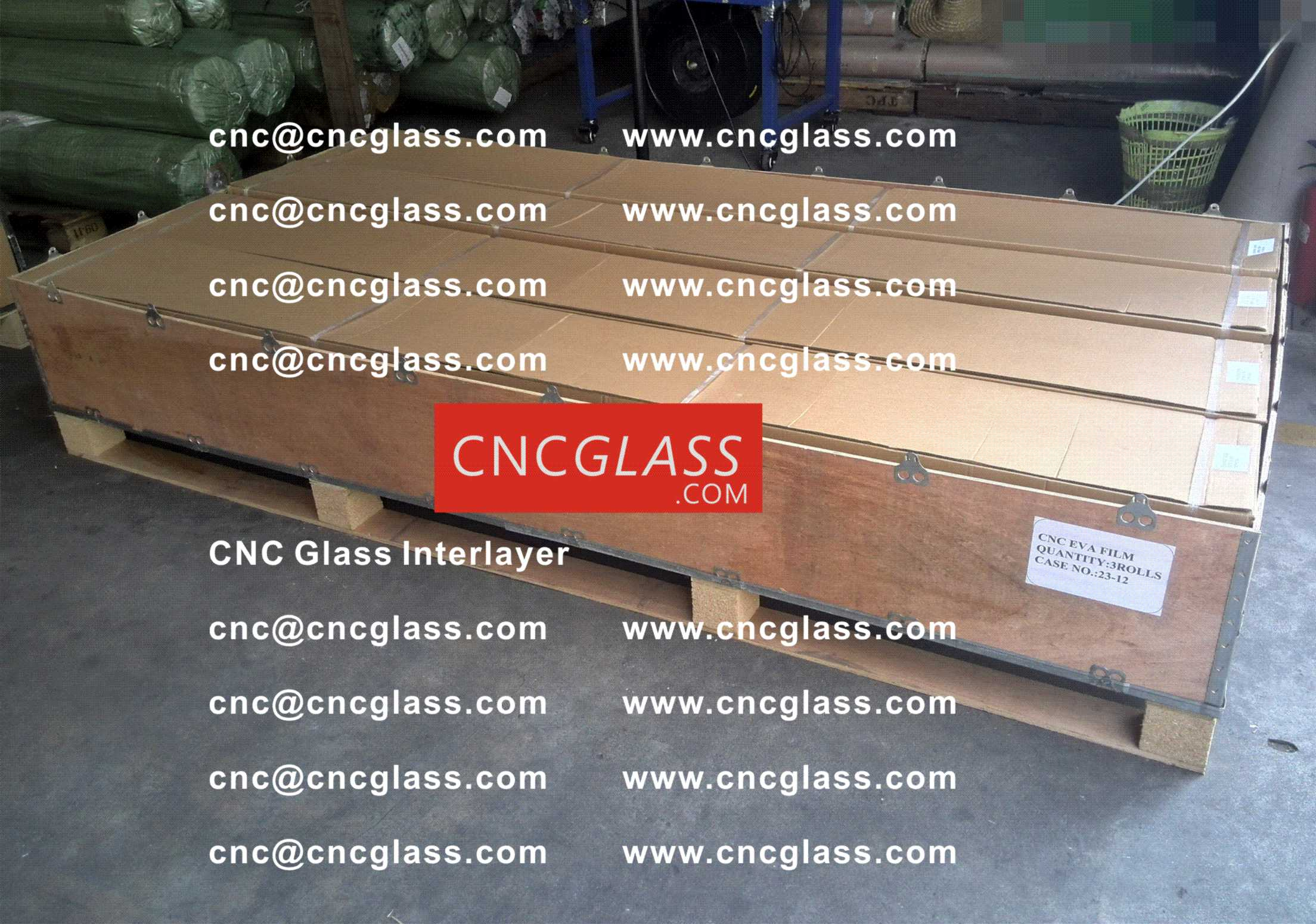 008 CNC Glass Interlayer EVA Film for Safety Laminated Glass
