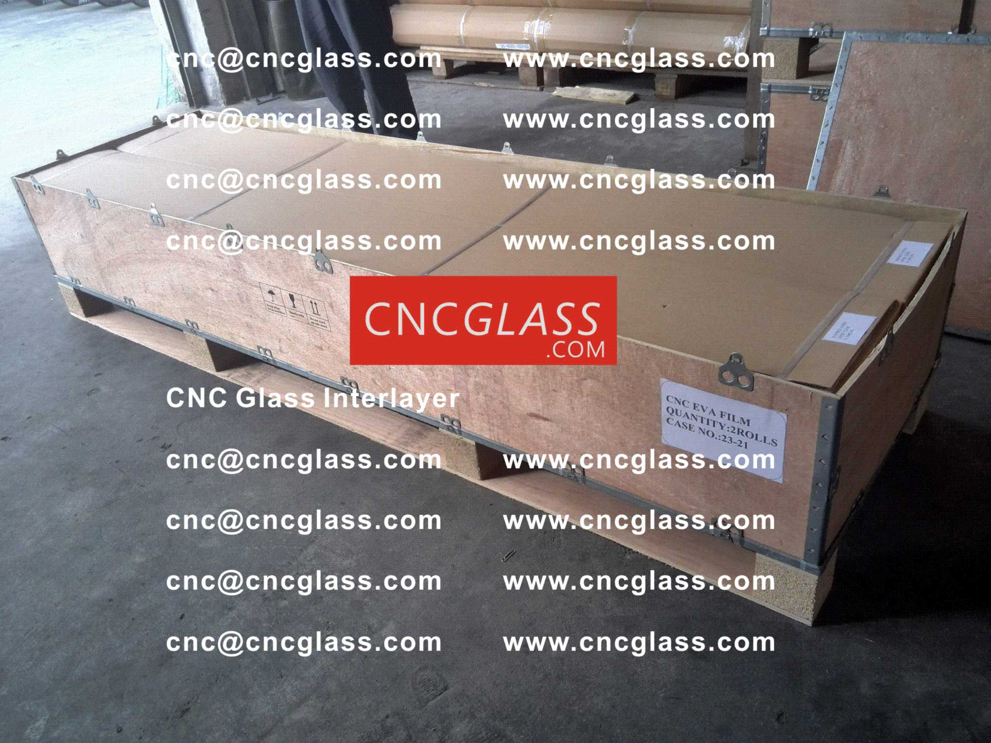 010 CNC Glass Interlayer EVA Film for Safety Laminated Glass