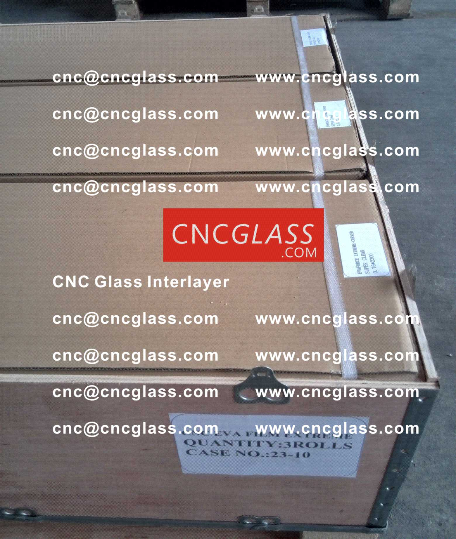 012 CNC Glass Interlayer EVA Film for Safety Laminated Glass