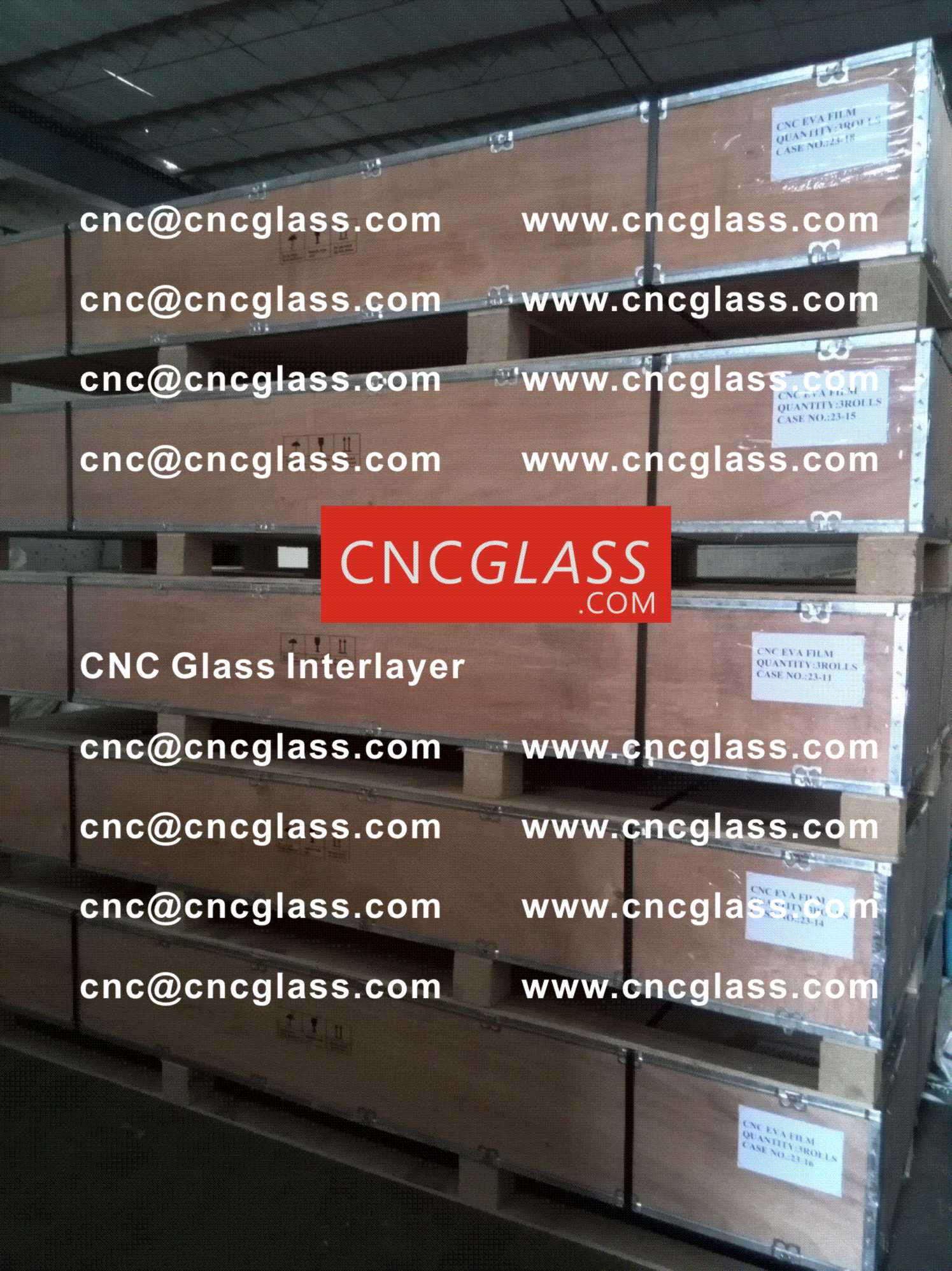 017 CNC Glass Interlayer EVA Film for Safety Laminated Glass