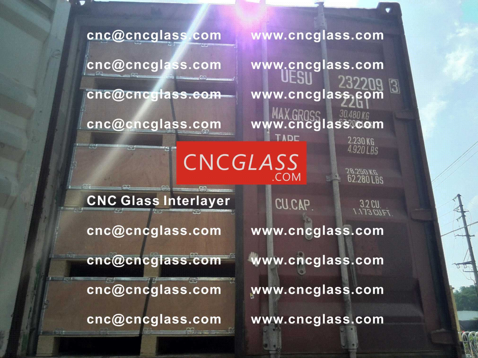 023 CNC Glass Interlayer EVA Film for Safety Laminated Glass