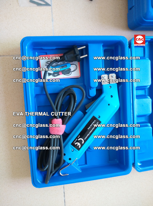 EVA THERMAL CUTTER, Cleaning EVA laminated glass edges (18)