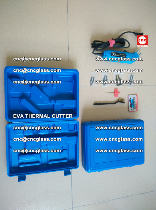 EVA THERMAL CUTTER, Cleaning EVA laminated glass edges (39)