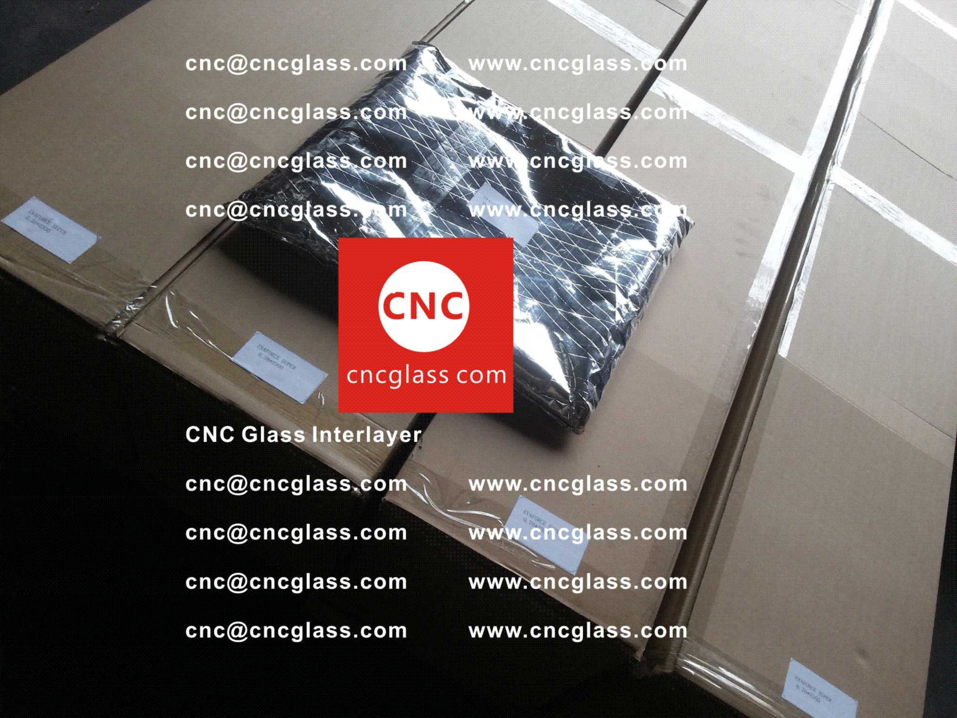 001 Package of EVA safety interlayer film for laminated glass