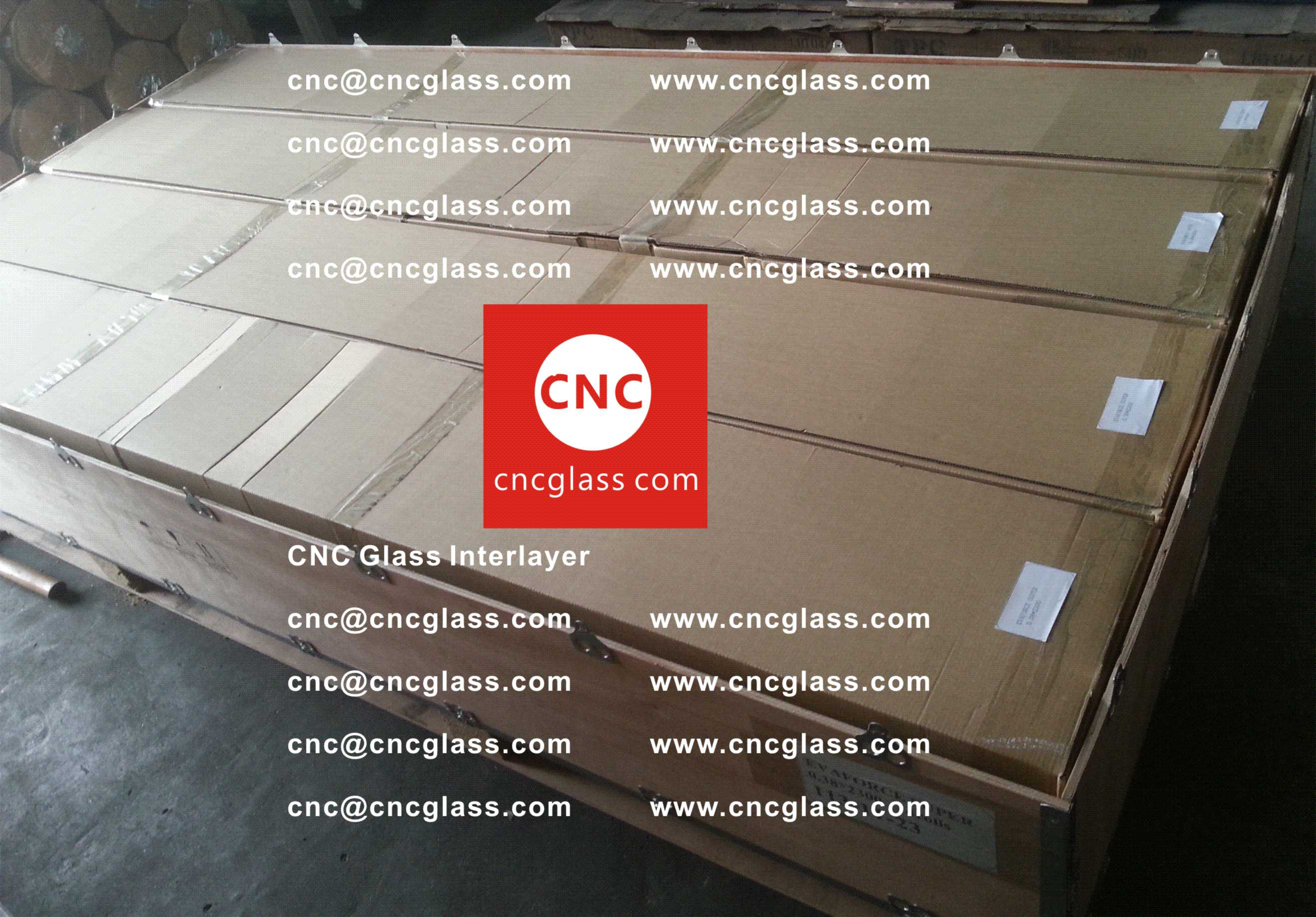 002 Package of EVA safety interlayer film for laminated glass