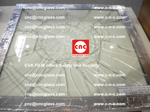 EVA Film Laminated Glass offers Safety and Security (1)