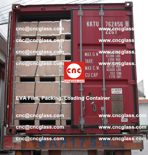 EVA Film, Package, Loading Container, Laminated Glass, Safety Glazing (78)