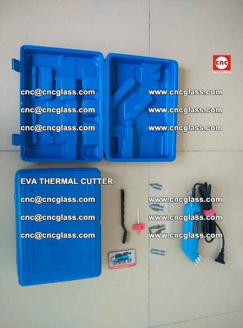 EVA THERMAL CUTTER, Cleaning EVA laminated glass edges (32)