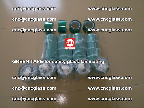 Green Tape for safety glass laminating, EVA FILM, PVB FILM, SGP FILM (1)