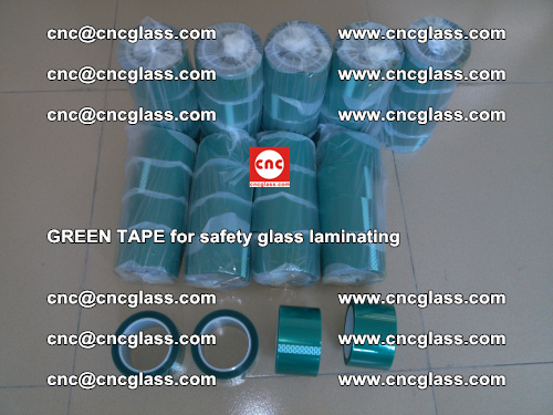 Green Tape for safety glass laminating, EVA FILM, PVB FILM, SGP FILM (10)