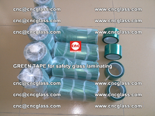 Green Tape for safety glass laminating, EVA FILM, PVB FILM, SGP FILM (11)