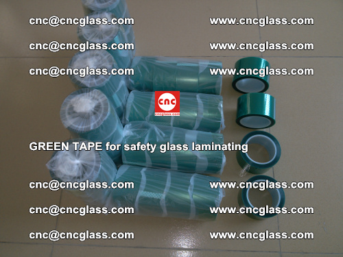 Green Tape for safety glass laminating, EVA FILM, PVB FILM, SGP FILM (12)
