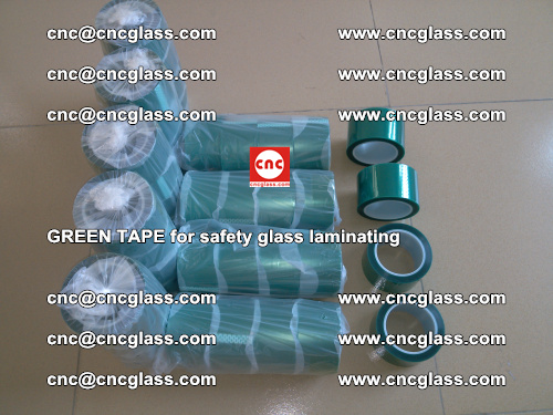 Green Tape for safety glass laminating, EVA FILM, PVB FILM, SGP FILM (13)