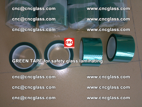 Green Tape for safety glass laminating, EVA FILM, PVB FILM, SGP FILM (14)
