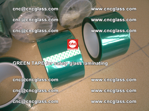 Green Tape for safety glass laminating, EVA FILM, PVB FILM, SGP FILM (15)
