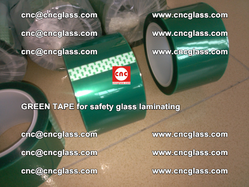 Green Tape for safety glass laminating, EVA FILM, PVB FILM, SGP FILM (16)
