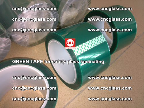 Green Tape for safety glass laminating, EVA FILM, PVB FILM, SGP FILM (17)
