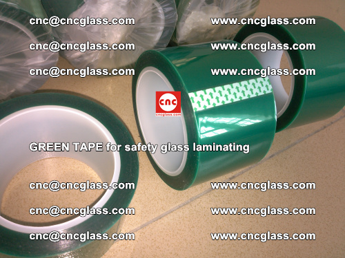 Green Tape for safety glass laminating, EVA FILM, PVB FILM, SGP FILM (18)